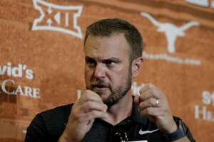 Coach Tom Herman begins his second season leading the Longhorns, with the opening of fall practice today. Texas is No. 21 in the preseason coaches poll released Thursday.