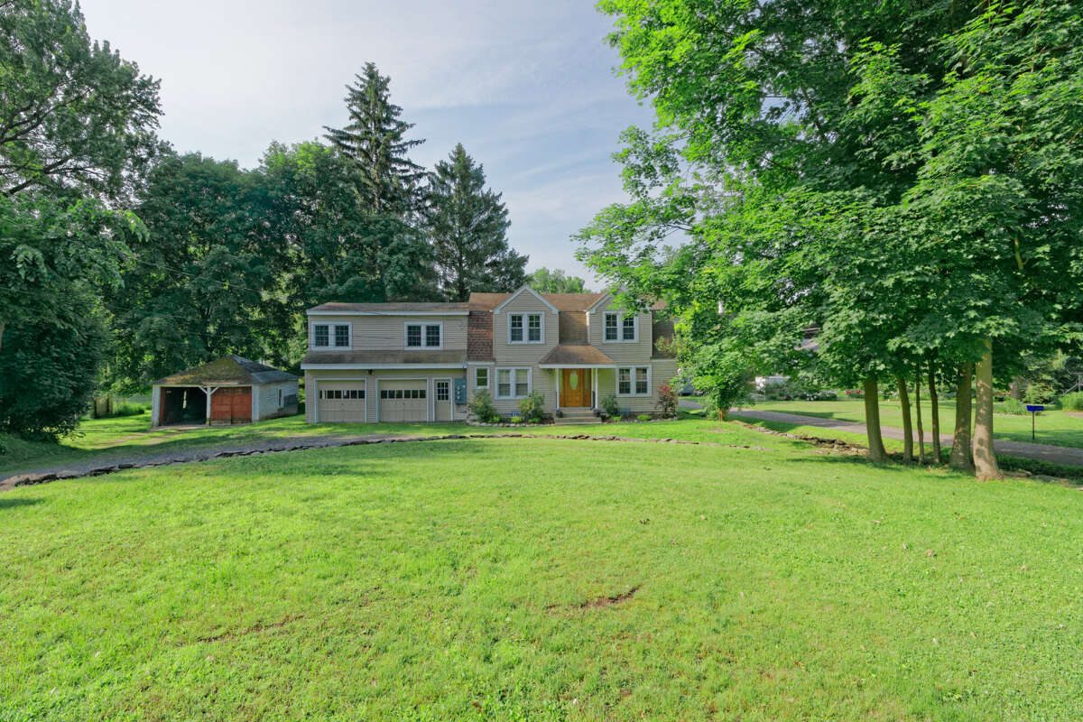 244 Riverside Place, Glenville, includes frontage on the Mohawk River. It is on the market for $269,000. (Photo by WalkthruPhoto)