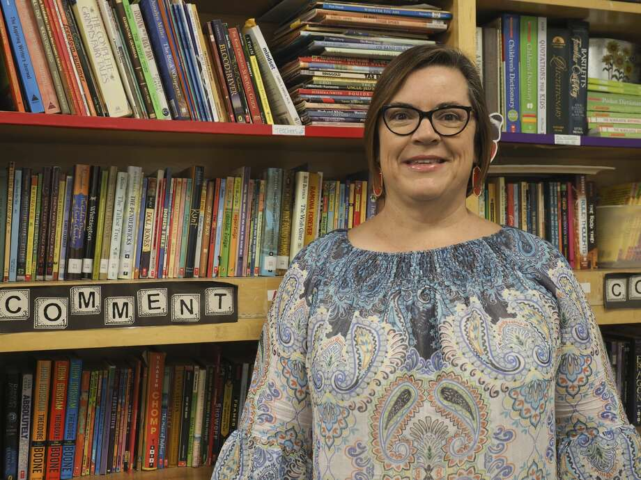 Tracy Gomez, 5th grade writing and social studies teacher at Carver Elementary.  08/03/18 Tim Fischer/Reporter-Telegram Photo: Tim Fischer/Midland Reporter-Telegram