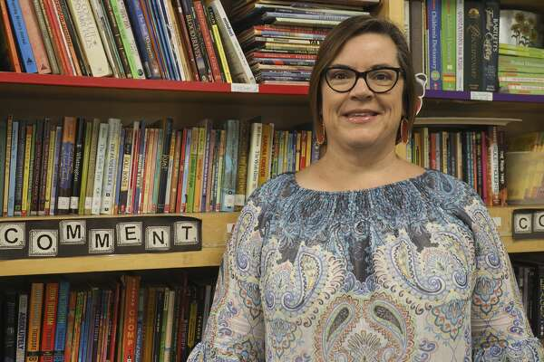 Tracy Gomez, 5th grade writing and social studies teacher at Carver Elementary. 08/03/18 Tim Fischer/Reporter-Telegram