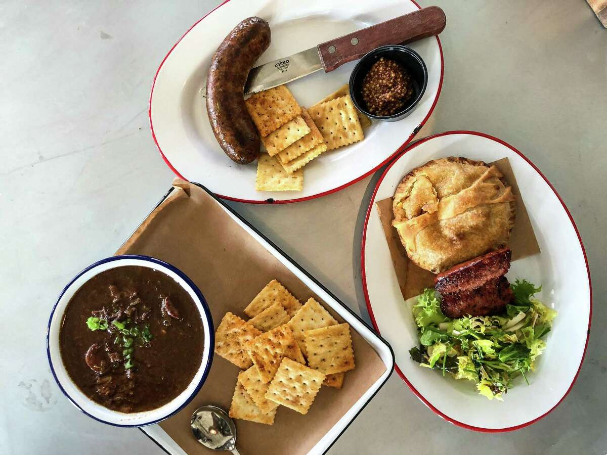 Gumbo, pot pie and boudin at The Switch in Austin