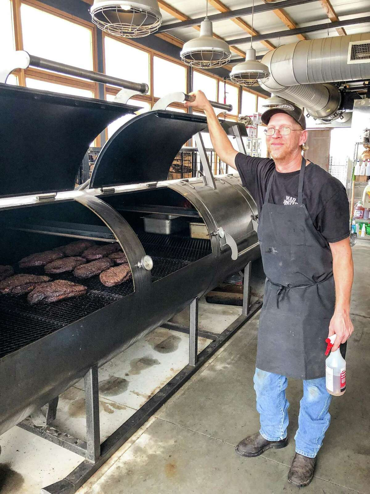 Pitmaster Bill Dumas at The Switch, in Austin