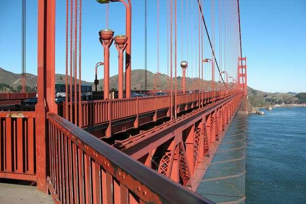 Golden Gate Bridge suicide barrier construction begins