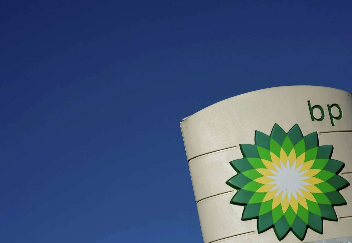 (FILES) In this file photo taken on February 07, 2018 the logo of BP plc is seen at a BP petrol station in Liverpool. Britain's BP on July 31, 2018, became the latest global energy major to win an earnings boost from runaway oil prices, rounding off an impressive earnings season for the industry's big hitters. BP said net profit rocketed to $2.8 billion in the three months to the end of June -- and hiked its dividend for the first time in four years. / AFP PHOTO / Paul ELLISPAUL ELLIS/AFP/Getty Images