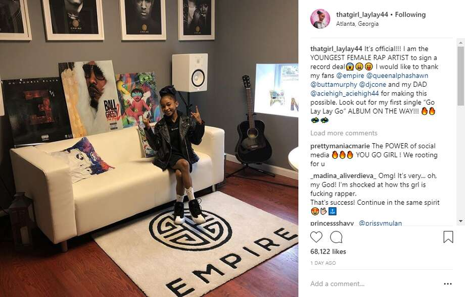 Alaya High, an 11-year-old Houston native, said on Thursday that she became the youngest female rap artist to ink a record deal when she recently signed with Empire Distribution.  Continue clicking to get to know some of the biggest names in Houston rap and hip-hop history. Photo: Courtesy