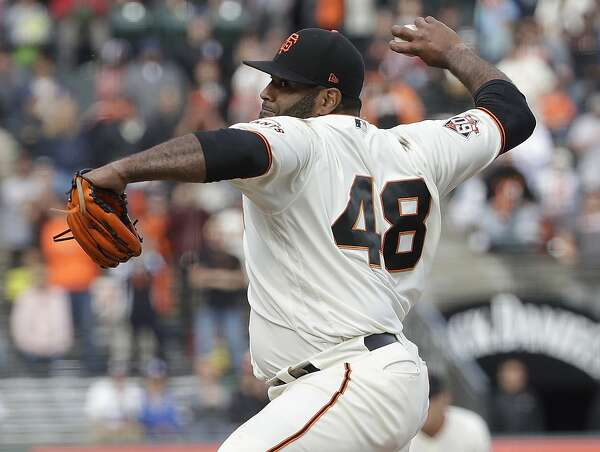 Giants' Pablo Sandoval tells Bruce Bochy he'd be glad to pitch again