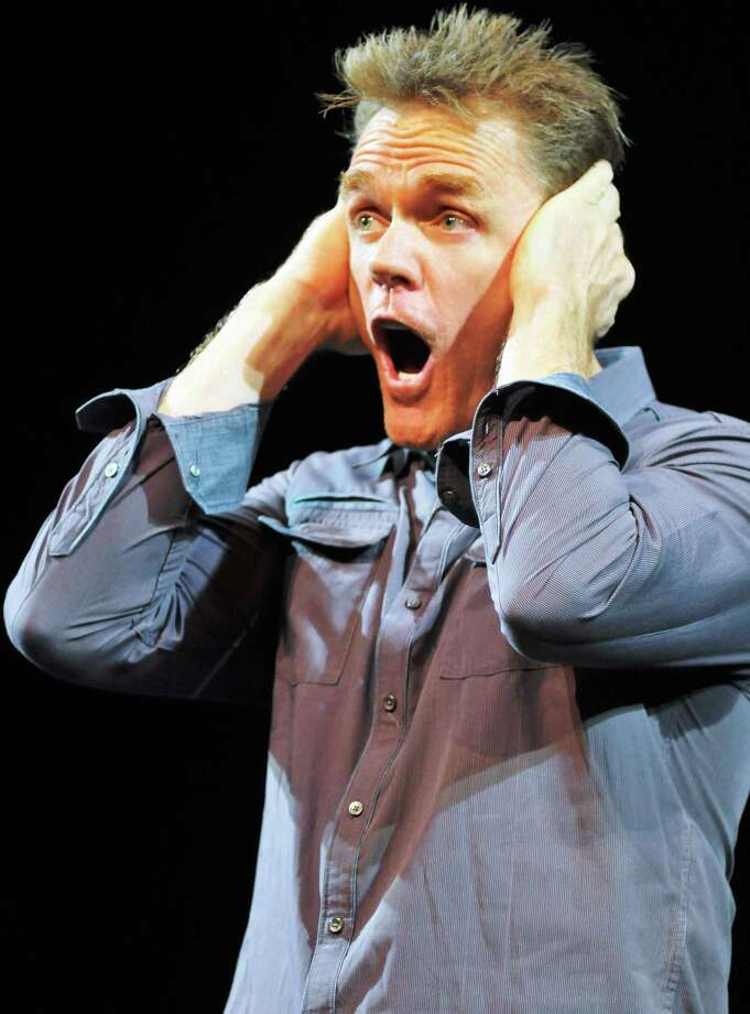 Comedian Christopher Titus will perform at The Stress Factory in Bridgeport on Aug 17 and 18. Photo: Getty Images / 2014 Stephen J. Cohen