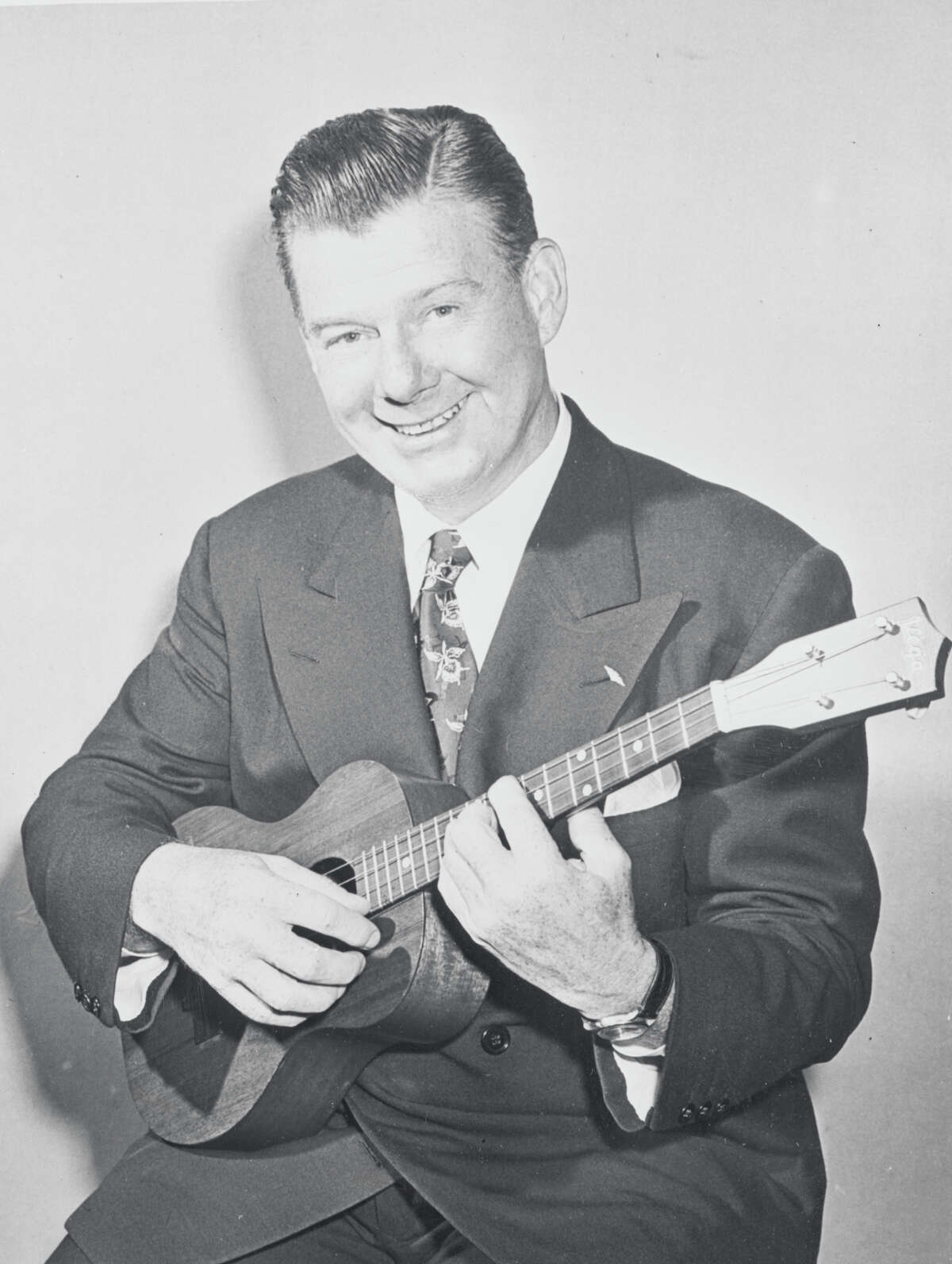 Godfrey, won of the early stars of TV, was known for playing the ukulele