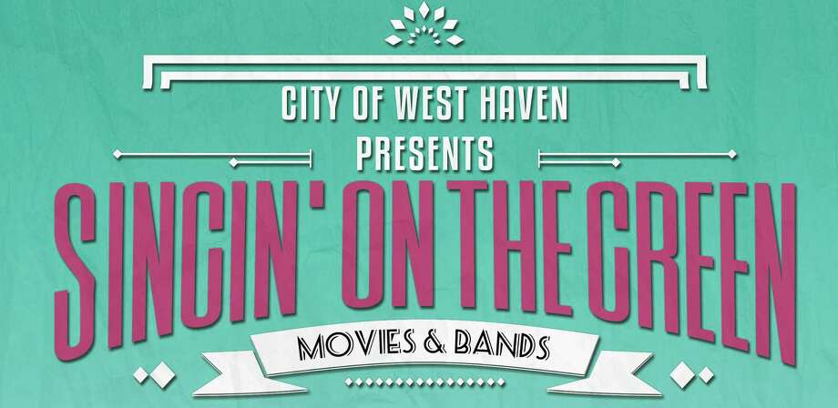 "West Haven, with the help of some private organizations, is presenting a new, free Wednesday night summer series, ""Singin' on the Green: Movies & Bands,"" beginning next week. The series will begin at 7:30 p.m. Thursday, Aug. 9 with a showing of ""Mamma Mia!,"" the 2008 jukebox musical romantic comedy movie, on the West Haven Green. It will continue with movies and live acts to be announced on the Green on Aug. 22, Sept. 5, Sept. 14 and Sept. 19. Photo: Contributed / City Of West Haven"
