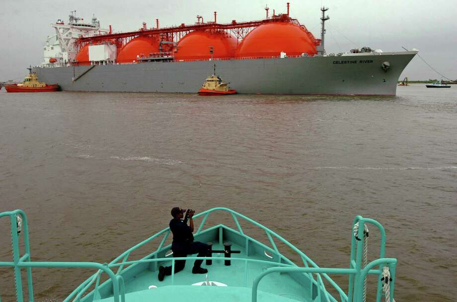 China's proposed tarifsf on imports of U.S. liquefied natural gas could impede U.S. access to one of the world's largest LNG markets during a time of intense competition for global export dominance. Photo: Mark M. Hancock, Staff Photojournalist / The Beaumont Enterprise / The Beaumont Enterprise