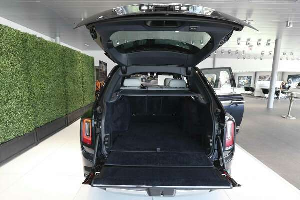 1of16the Rolls Royce Cullinan The First Luxury Suv From Is Unveiled To Public On Friday Aug 3 2018 In Houston