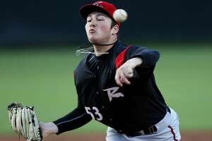 BOWIE, MD - APRIL 17: Richmond Flying Squirrels pitcher Matt Gage (53) in action during a match between the Bowie Baysox and the Richmond Flying Squirrels on April 17, 2017, at Prince George's Stadium in Bowie, MD. (Photo by Daniel Kucin Jr./Icon Sportswire via Getty Images)