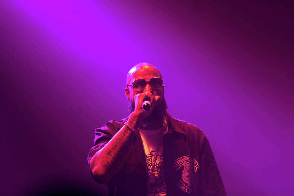 Slim Thug and Boss Life Worldwide celebrate the Houston rapper's 20-year career with a concert Friday, Aug. 3, 2018, at White Oak Music Hall. (Photo by Marco Torres/@MarcoFromHouston)