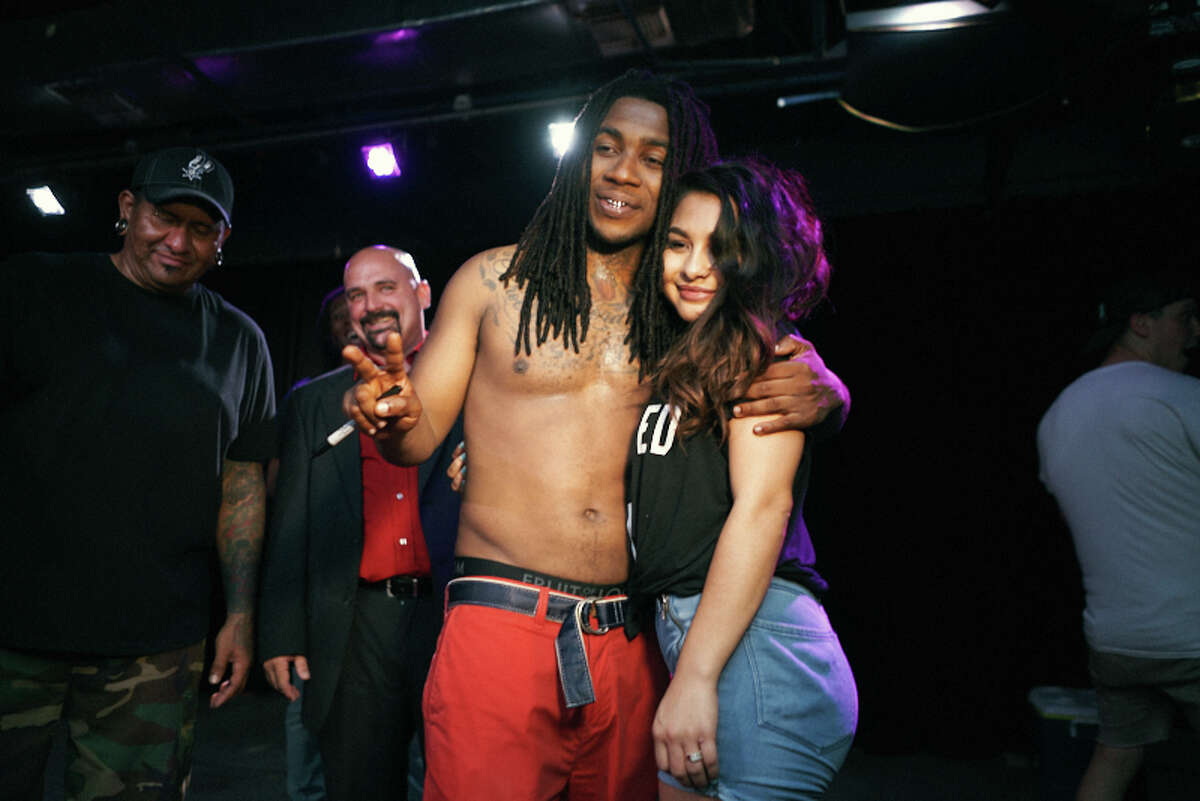 Rapper Lil B 'The Based God' and opening band Wild Moccasins drew an eclectic crowd to Paper Tiger Friday, August 3, 2018.