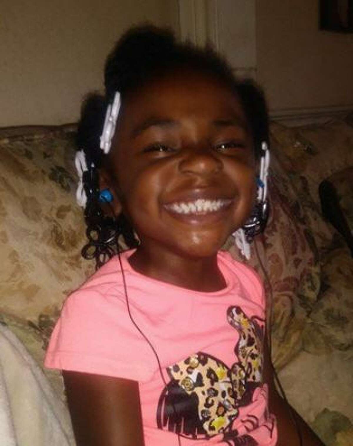 Remains suspected to be those of Rayven Shields, 3, were found Aug. 3, 2018, in Bryan, Texas. Police had been looking for the girl for nearly a week.