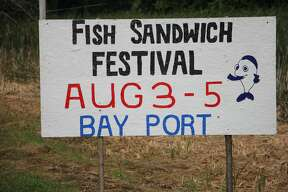 Bay Port Fish Sandwich Festival in full effect.