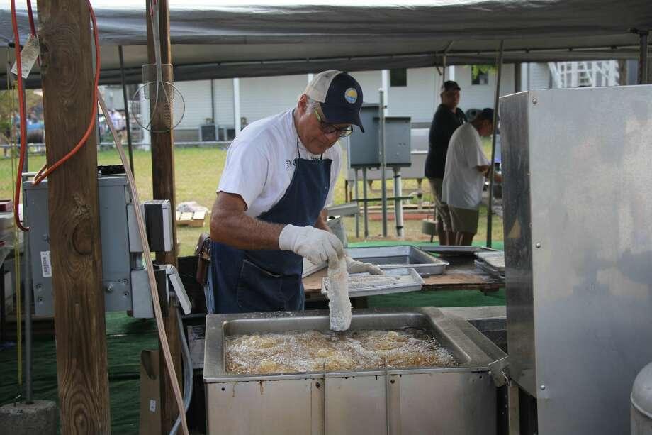 Bay Port Fish Sandwich Festival in full effect. Photo: Seth Stapleton/Huron Daily Tribune