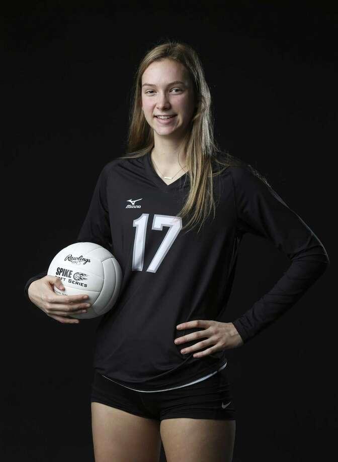 Portrait of Clark's Kara McGhee for the 2017 Express-News All-Area Volleyball Super Team. (Kin Man Hui/San Antonio Express-News) Photo: Kin Man Hui, Staff / San Antonio Express-News / ©2017 San Antonio Express-News