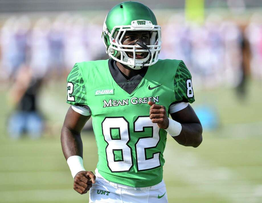 Deion Hair-Griffin, a receiver at North Texas, earned an estimated $3,136 from that NCAA's cost of attendance stipend last season. Photo: North Texas Athletics