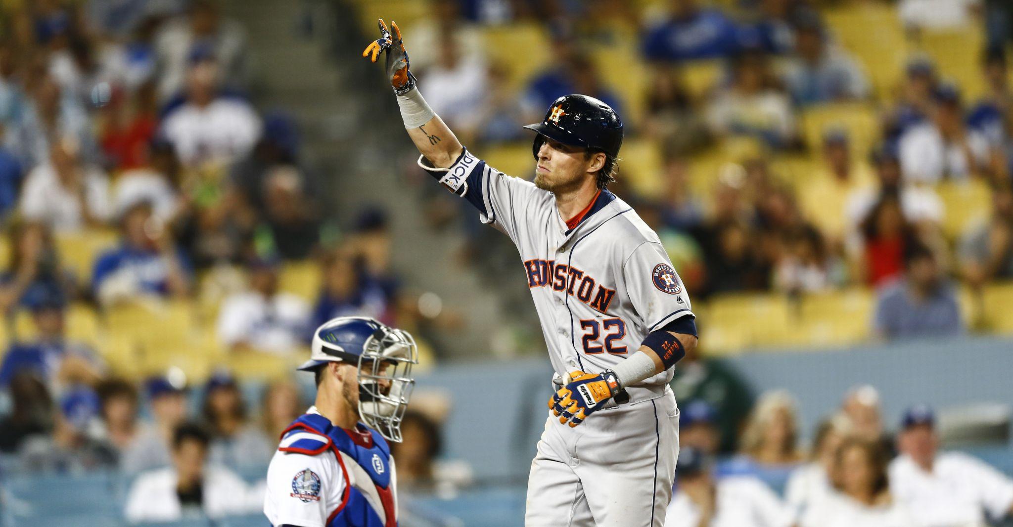 check out 1b492 7e83d Astros Balls & Strikes: Josh Reddick gets his revenge ...