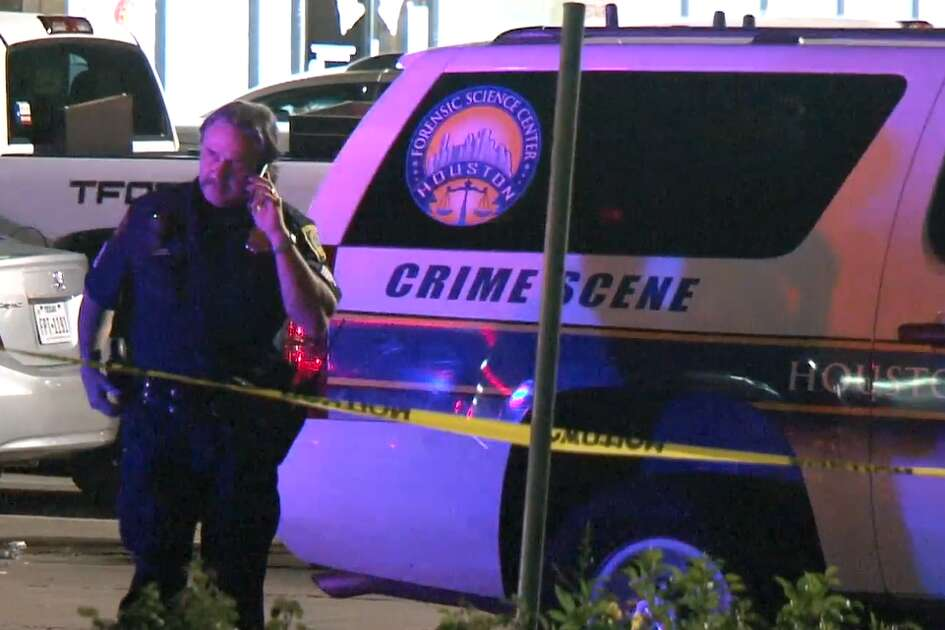 Gunmen shot a customer multiple times about 7:30 p.m. Saturday in the parking lot after he picked up a to-go order at La Union restaurant at Wilcrest and Bissonnet.