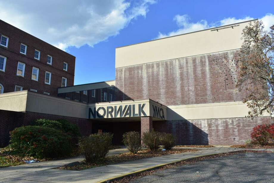 The abandoned Norwalk YMCA building at 370 West Ave. in Norwalk, Conn., entering December 2017. Five years after Norwalk Hospital reached a deal to acquire the property, parent Western Connecticut Health Network has yet to move ahead with any redevelopment of the site just below the main hospital building. Photo: Alexander Soule / Hearst Connecticut Media / Stamford Advocate