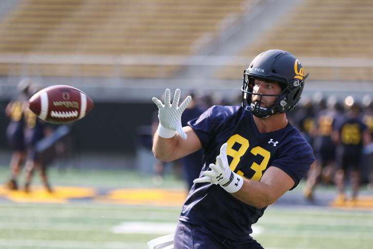 Tight end Ian Bunting joined Cal as a grad-transfer from Michigan.