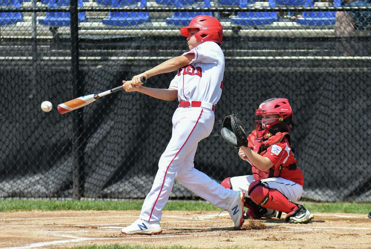 2018 Little League Eastern Regional game action between Fairfield American (CT) and Coventry Rhode Island on Sunday Aug 5, 2018, at the A. Bartlett Giamatti Little League Center in Bristol, Connecticut.
