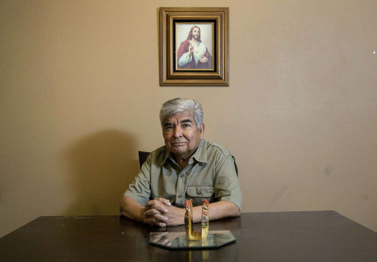 Johnny Mata, a community activist for over 40 years with the League of United Latin American Citizens, worked to build relationships between Houstonians and law enforcement agencies. He poses for a portrait at his home Thursday, July 5, 2018, in Houston. ( Jon Shapley / Houston Chronicle )