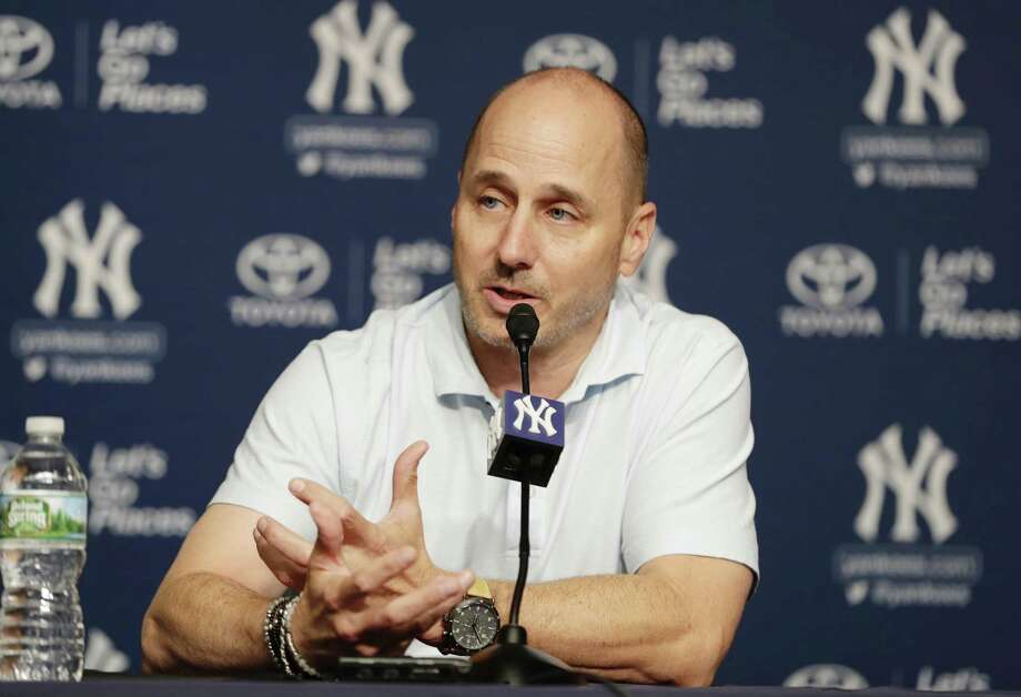 Yankees general manager Brian Cashman. Photo: Frank Franklin II / Associated Press / Copyright 2018 The Associated Press. All rights reserved.
