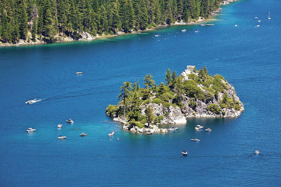 Lake Tahoe, straddling the border of California and Nevada, is the largest Alpine freshwater lake in the western United States. Photo:       George Rose   Getty Images