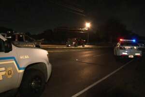 A man died after he was hit by two cars on Barker Cypress on Monday, Aug. 6, 2018.