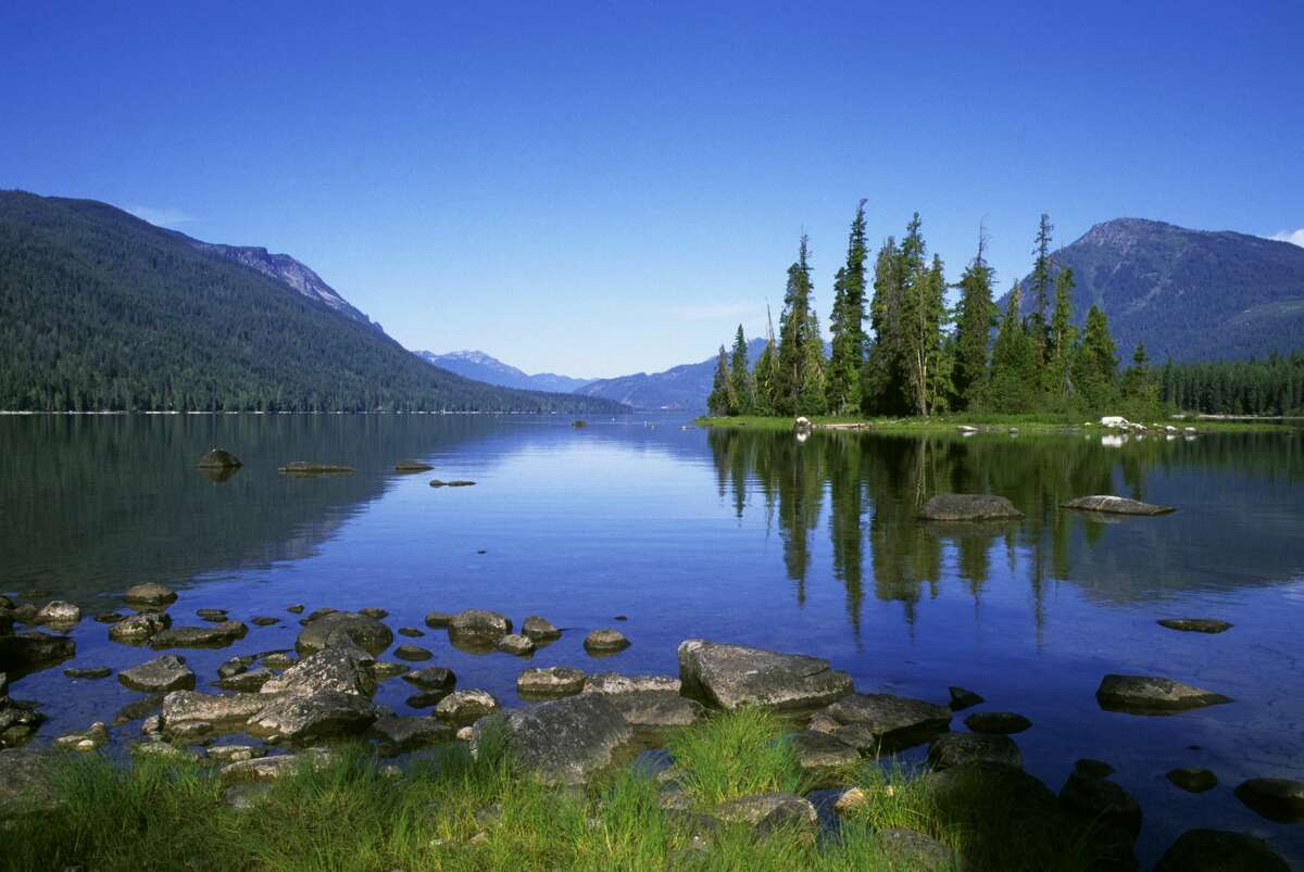 Lake Wenatchee State Park. (Photo by Wolfgang Kaehler/LightRocket via Getty Images)