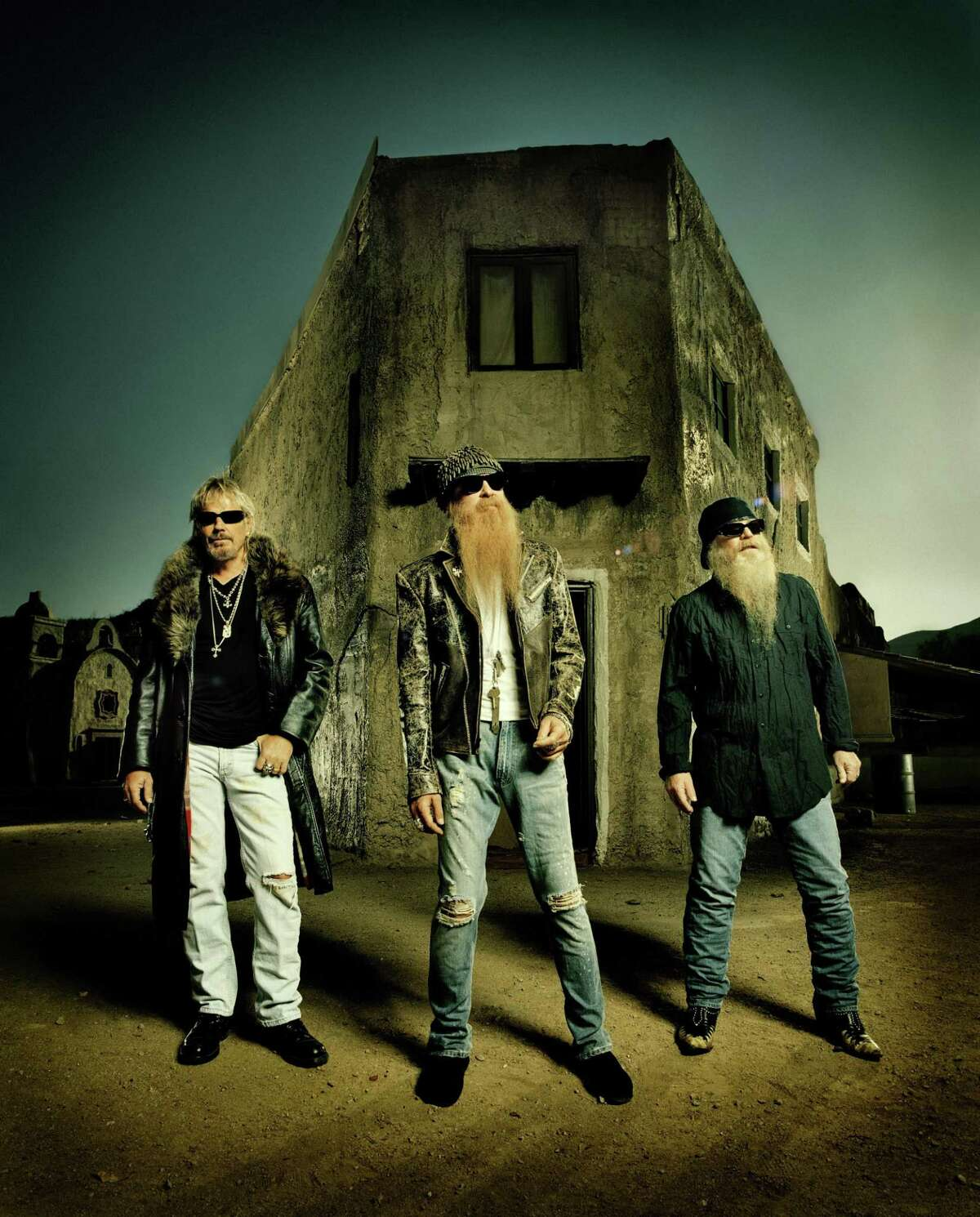 ZZ Top old town vertical