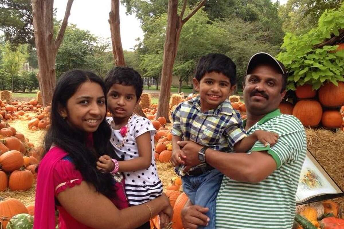 40-year old Jinu Joseph (far right) was found dead on Saturday in Galveston Bay after he went missing while fishing near the Texas City Dike. Continue clicking to see the Texas waterways where people died last year.