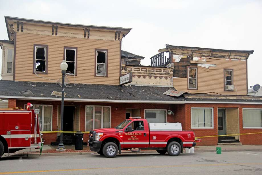 Photos from the aftermath of the fire at Al's Restaurant in Harbor Beach. Photo: Mike Gallagher/Huron Daily Tribune