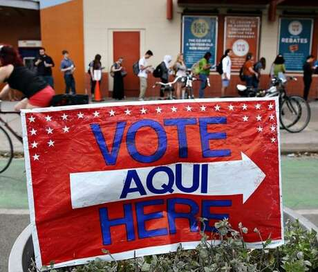 It's Election Day. Polls in Harris County are open from 7 a.m. to 7 p.m.