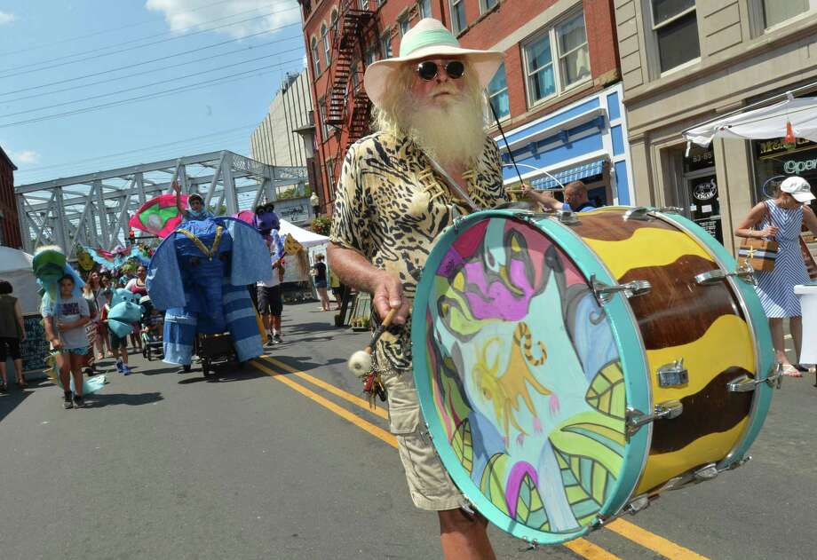 The SoNo Arts Fest and Puppet Parade on Sunday August 5, 2018 in Norwalk Conn. Photo: Alex Von Kleydorff / Hearst Connecticut Media / Norwalk Hour