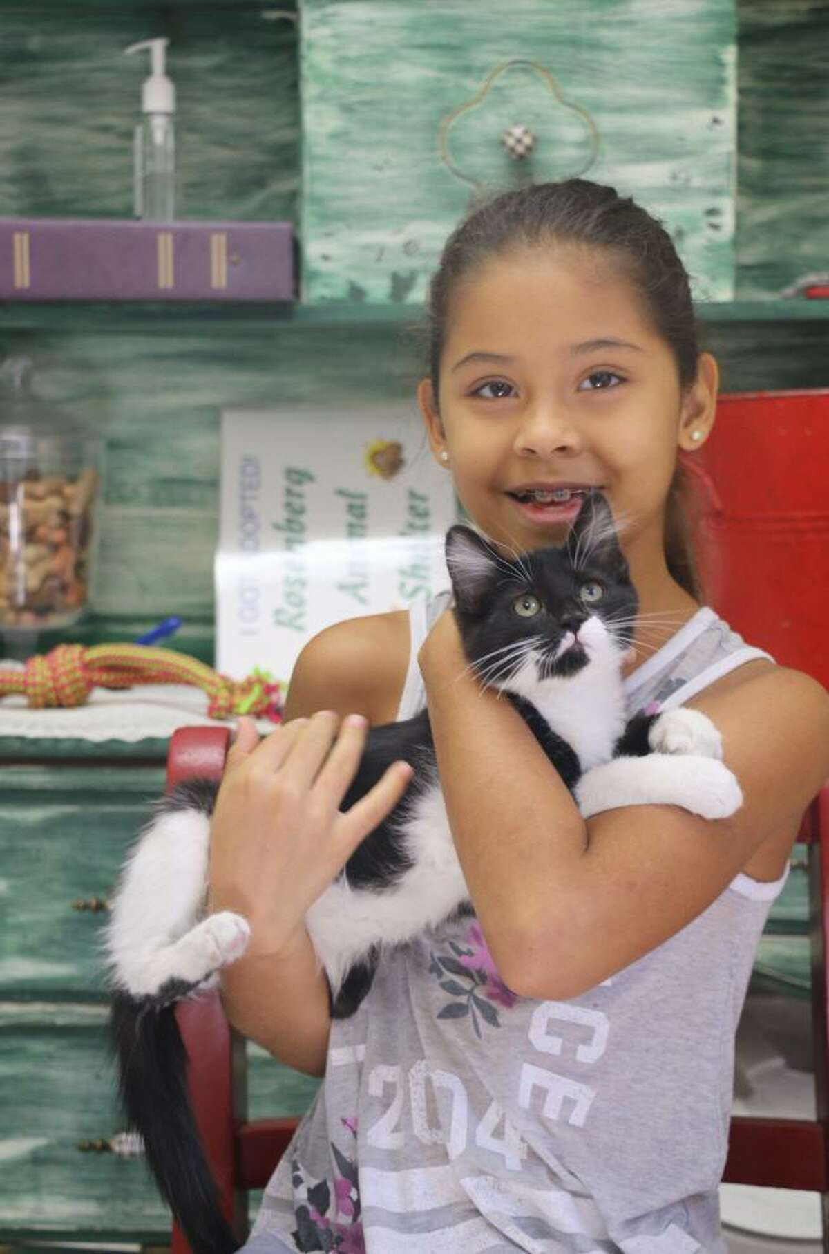 The Rosenberg Animal Control and Shelter has collaborated with Chick-fil-a Rosenberg to host a Spirit Night. Come on out on Wednesday, Aug. 15, from 4 to 8 p.m. and look for the Spirit Night box on the counter with the Rosenberg Animal Control and Shelter label affixed to it and drop in your sales receipt. The restaurant will donate a percentage of the sales made from the event to the shelter.