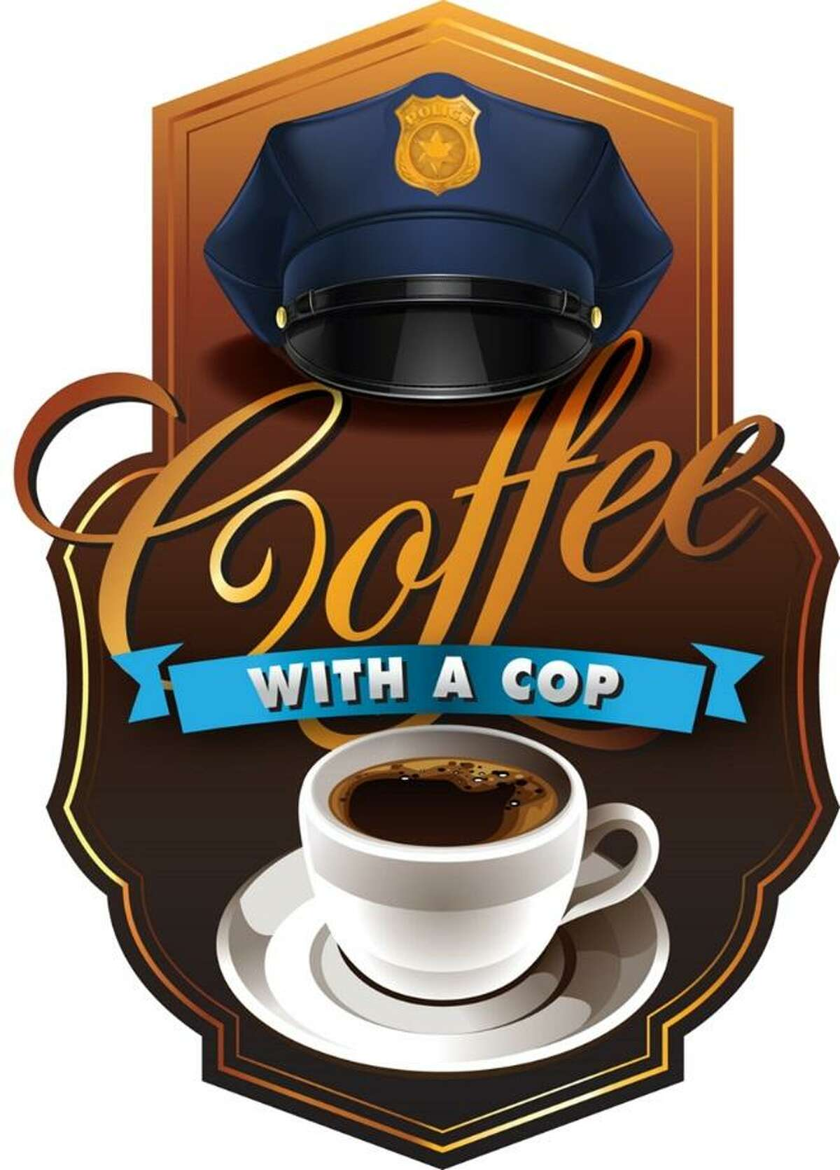 The Richmond Police Department will hold Coffee with a Cop from 8-10 a.m. Wednesday, Aug. 15, at the Richmond Market H-E-B, 23500 Berry Parkway in Richmond.