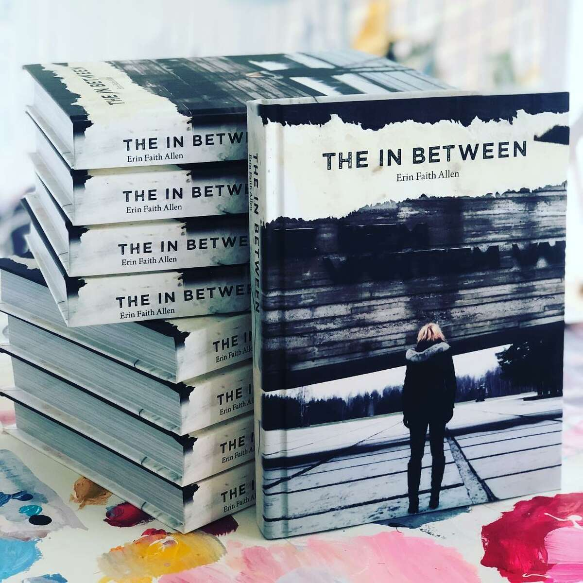 Allen's book, The In Between, can be bought online at www.erinfaithallen.com. The memoir details her time traveling through Europe's World War II sites.