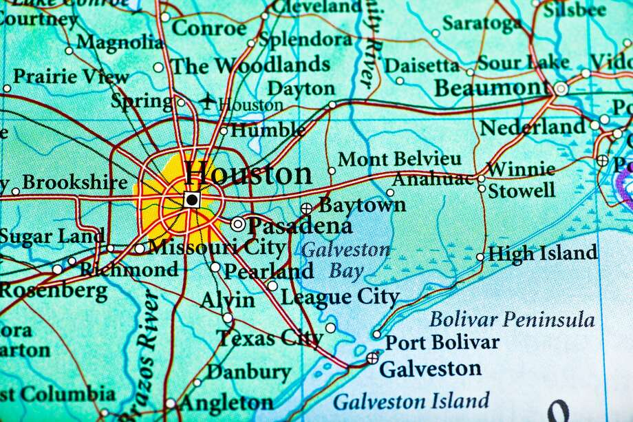 Houston City Limits Map Where does 'Houston' begin and end?   Houston Chronicle