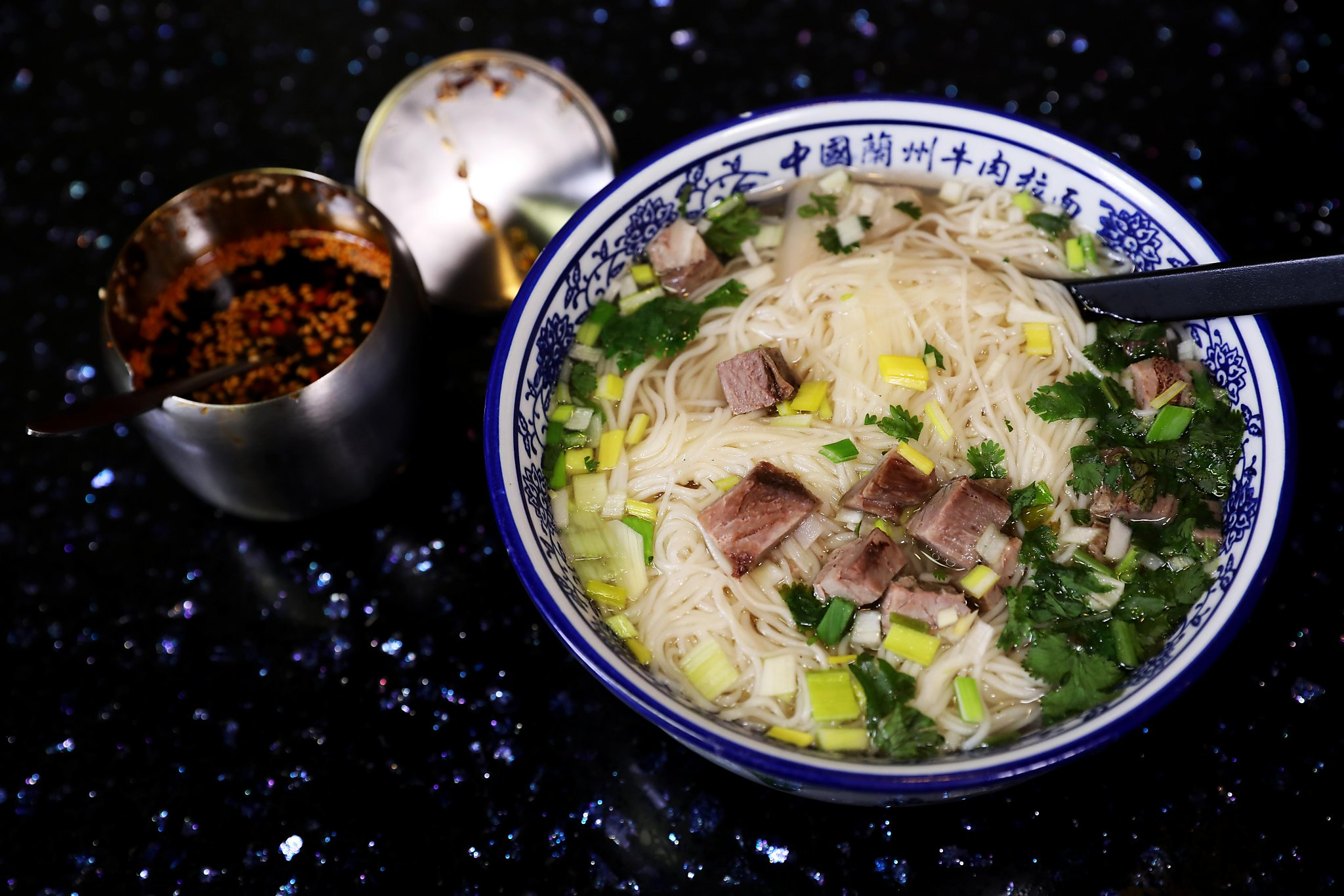 Fremont S Shinry Lamian Serves Lanzhou Noodles Made By A Master Noodle Puller Sfchronicle Com