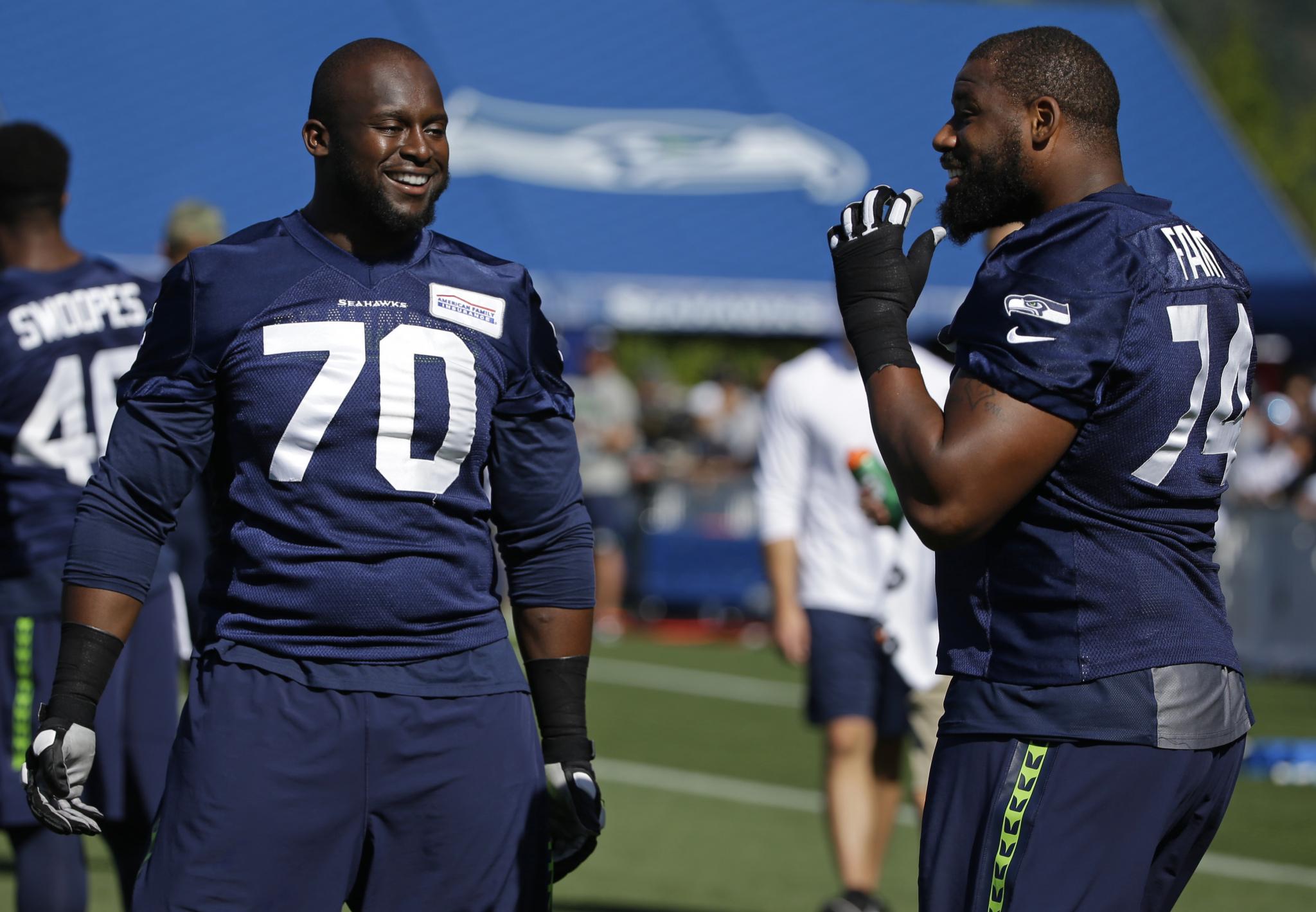 size 40 4c316 7356c Seahawks guard, Kenyan-born Rees Odhiambo becomes American ...