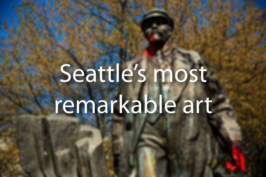 Click through to see some of Seattle's most remarkable art.