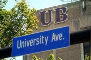 The University of Bridgeport campus on Monday.