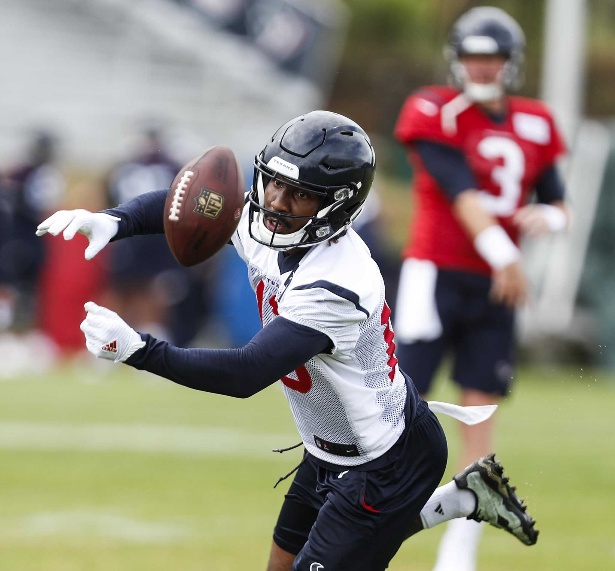 143064124d6 Texans' Braxton Miller is finally catching on as a receiver ...