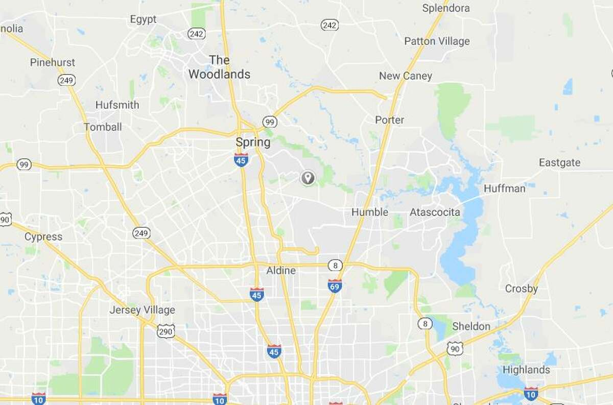 Google Maps image showing area where a home was raided in a child pornography investigation.