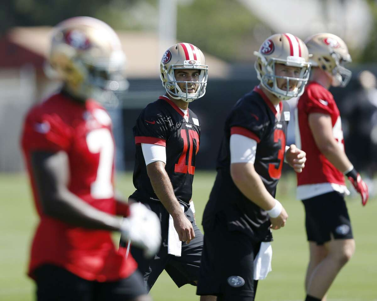 Top: Garoppolo system seemed to have mastered how to direct an NFL offense.