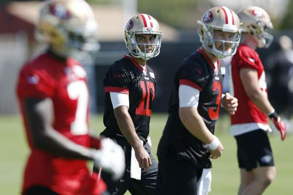b4d08a6e7 1of8Top  Garoppolo system seemed to have mastered how to direct an NFL  offense.Photo  Liz Moughon   The Chronicle